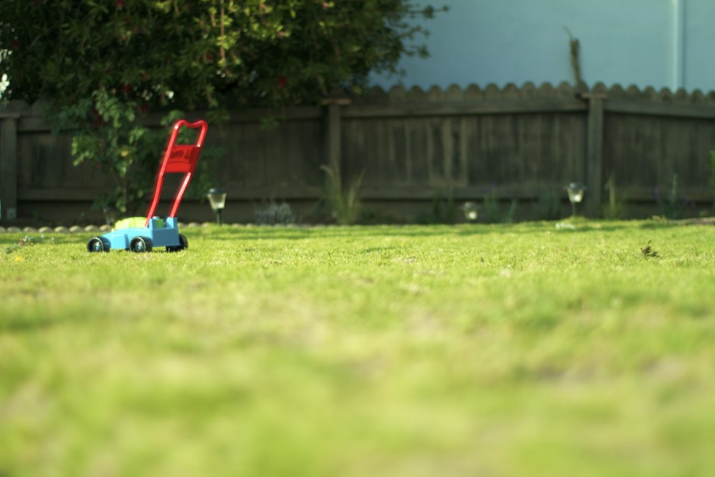lawnmower toy